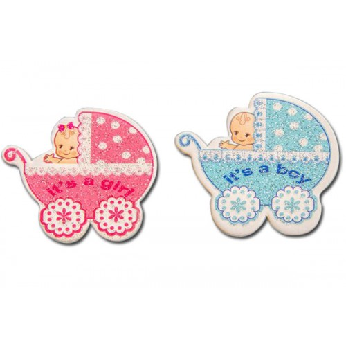 Bebek Sticker Puset Araba